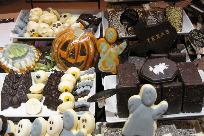 9. Seasonal Halloween stores (and displays) are going strong...