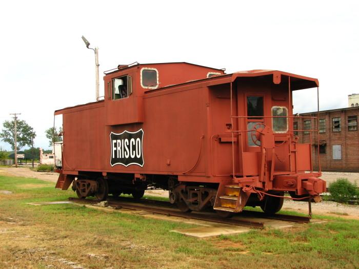 4. Burlington Northern Santa Fe Railway Frisco Caboose