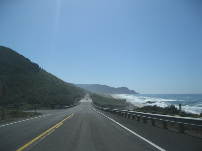 9) Pacific Coast Scenic Byway