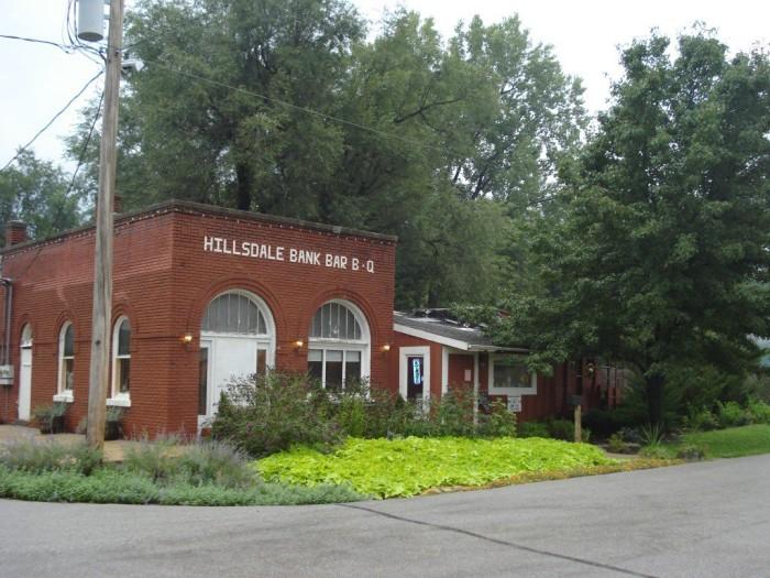 8. Hillsdale Bank Bar-B-Q (Hillsdale)
