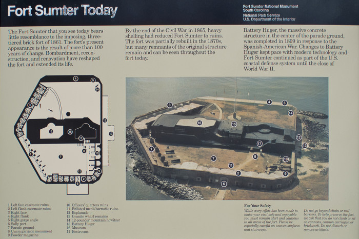 3. Fort Sumter