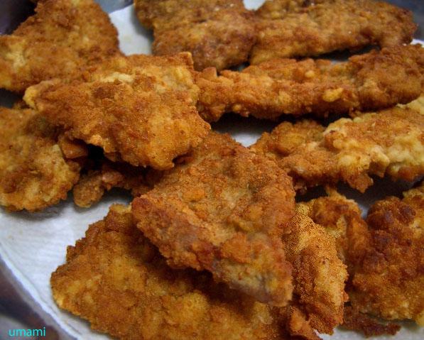 4. Batter-Fried Pork Chops and Beer