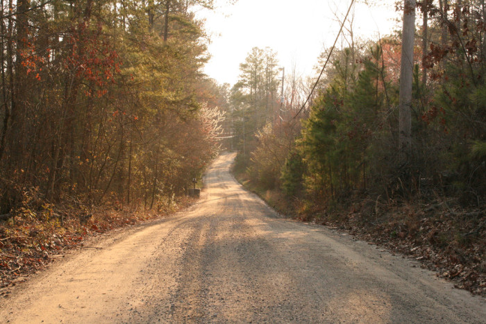 4. Dusk on a dirt road in Fulton County