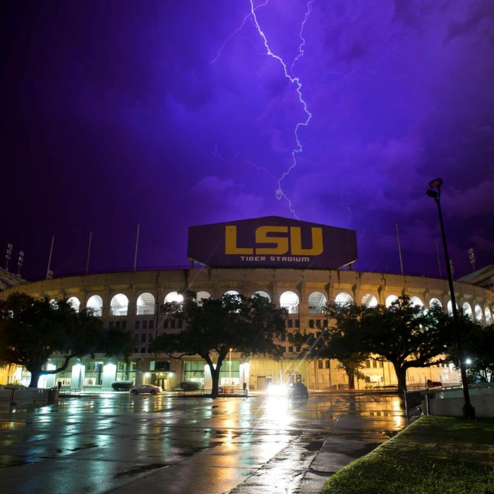 2. And Tiger Stadium can be heard from miles away on game day.