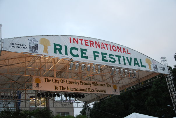 1) International Rice Festival