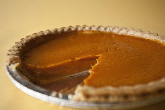 10. Pumpkin pie, pumpkin soup, pumpkin cookies, pumpkin bread.