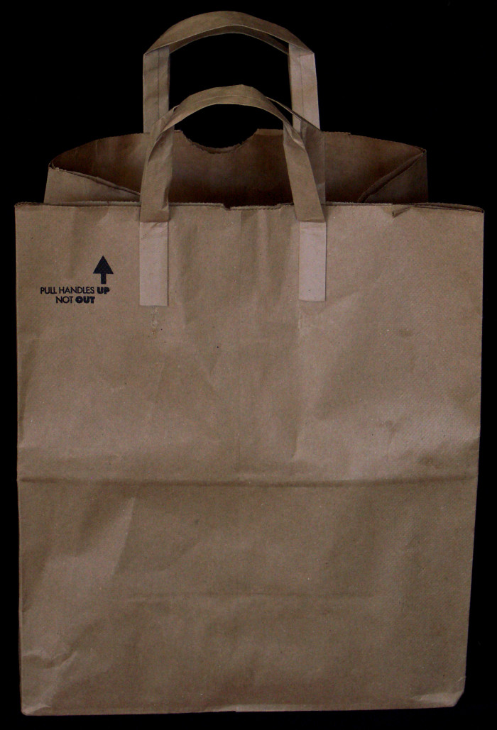 4. MN grocer Walter Deubener created the first handled grocery bags. Otherwise, it'd be hard to carry all that popcorn and pizza!