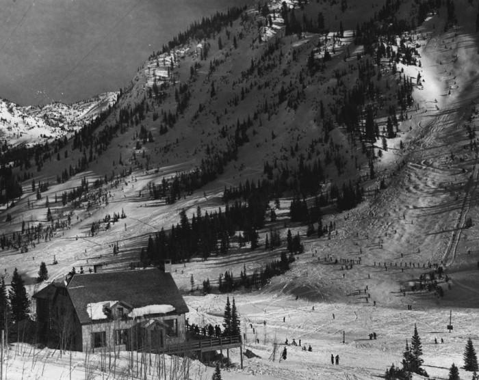 7. Alta Ski Resort, 1941