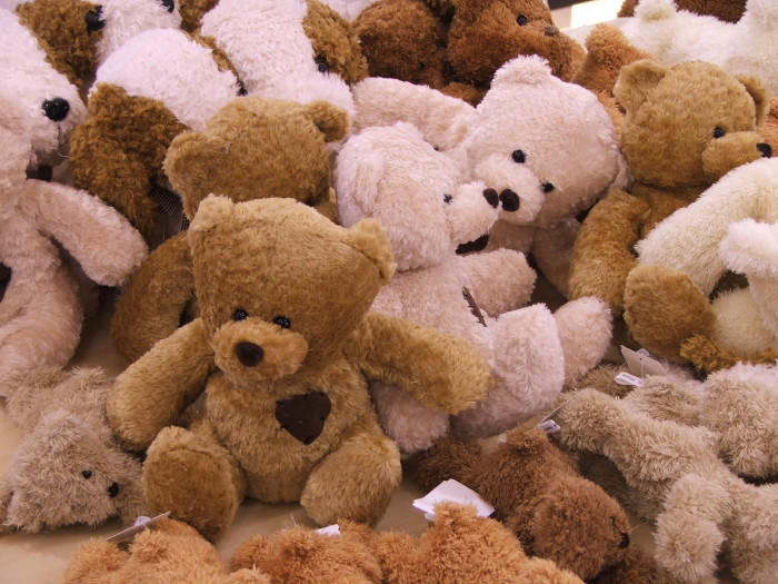 4. That beloved childhood teddy bear that you can't bear (pun intended) to part with? Yeah, he wouldn't exist had Teddy Roosevelt not went on that famous hunting expedition in Sharkey County.