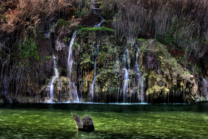 10) A beautiful shot of Crockett Springs Falls in Cedar Breaks Park!