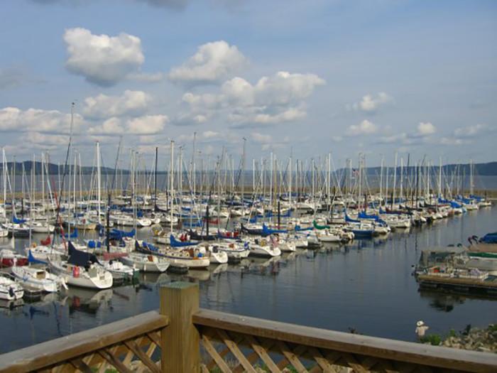 11. Nosh Restaurant & Bar in Lake City has unbeatable lakefront views.