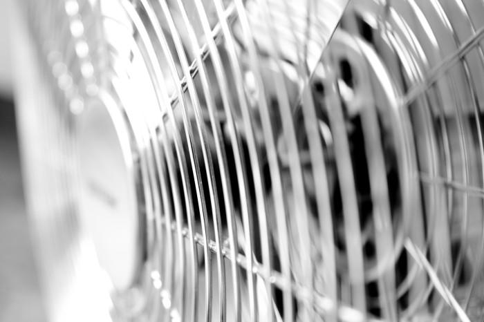4. A fan.