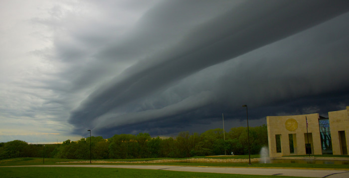 10. Even our storms are stunning!