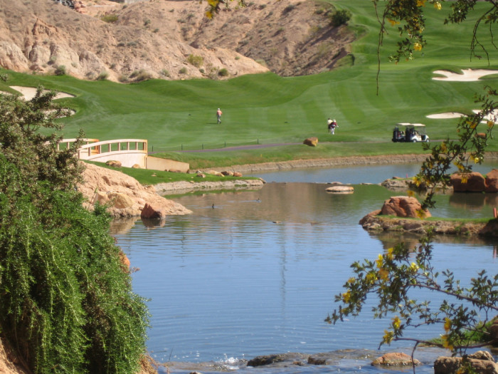 8. Nevada is home to 133 beautiful golf courses.