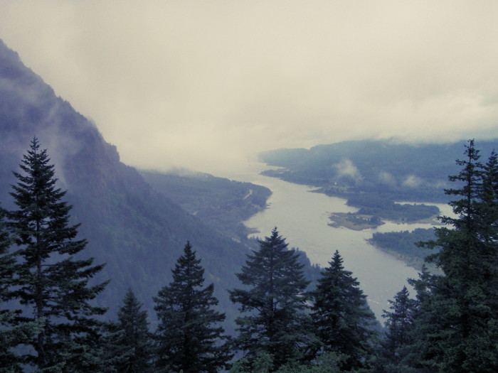 9) An eerie view from Munra Point.