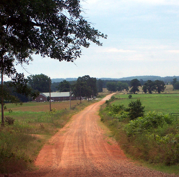 9. Red Dirt Road In Madison County...