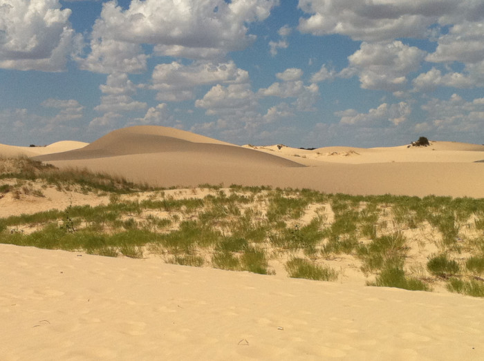 7) Sand dunes..except not at the beach!