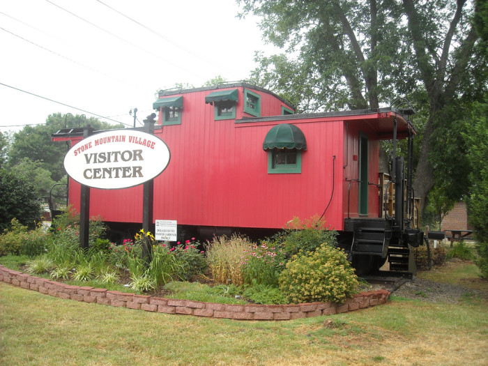 1. Caboose at Stone Mountain Village