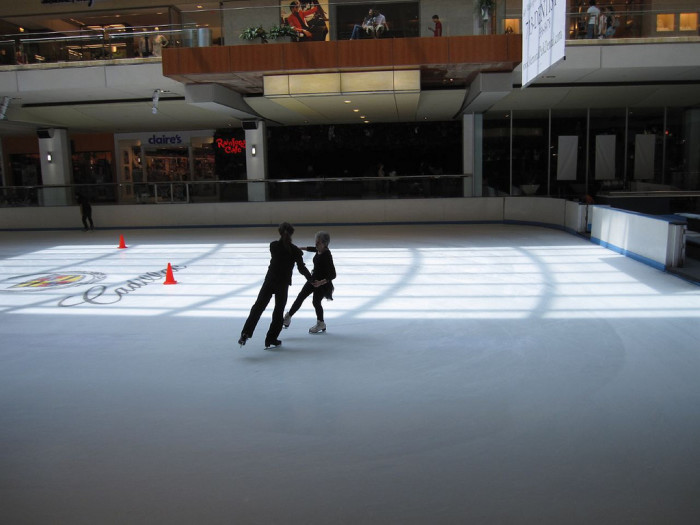 13) If you have decent balancing skills, you could always try out ice skating!