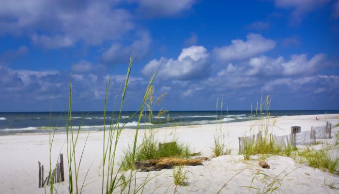 8. Gulf Shores Beach