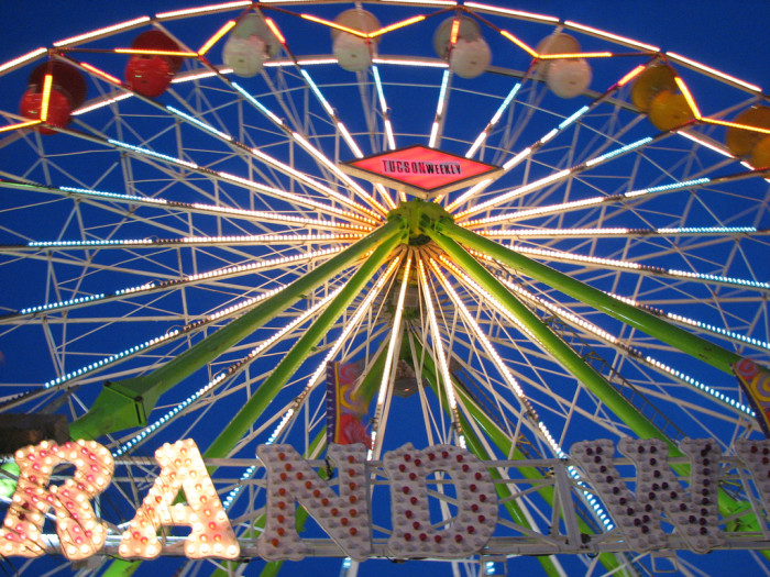 6. Arizona suddenly experiences a burst in fair activity: the State Fair, county fairs, the Navajo Nation Fair, and Oktoberfest are just a few examples.