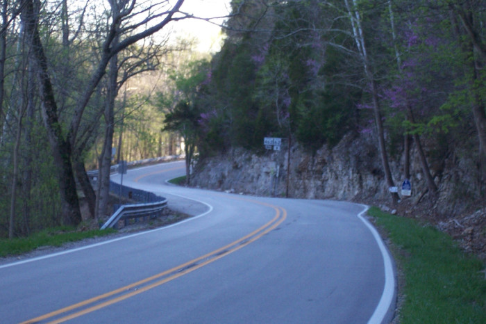5. This is Indiana SR 62. Some say it's a bit of a challenging road to navigate, but it offers a beautiful driving experience through both Crawford and Harrison Counties.