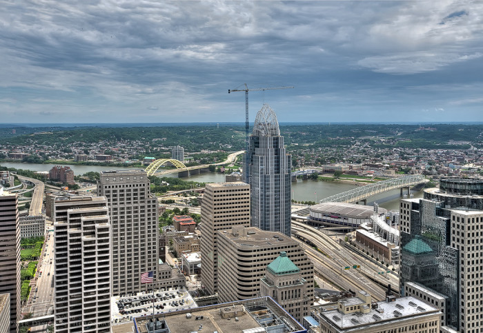 6. Carew Tower Observation Deck (Cincinnati)