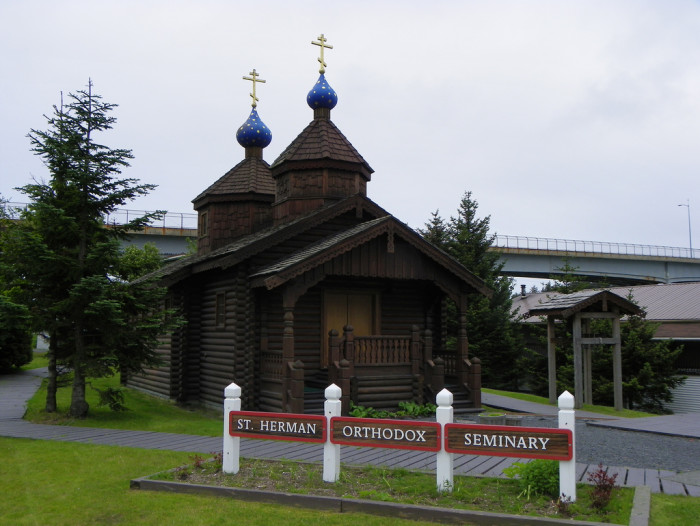 8) St. Herman Orthodox Seminary