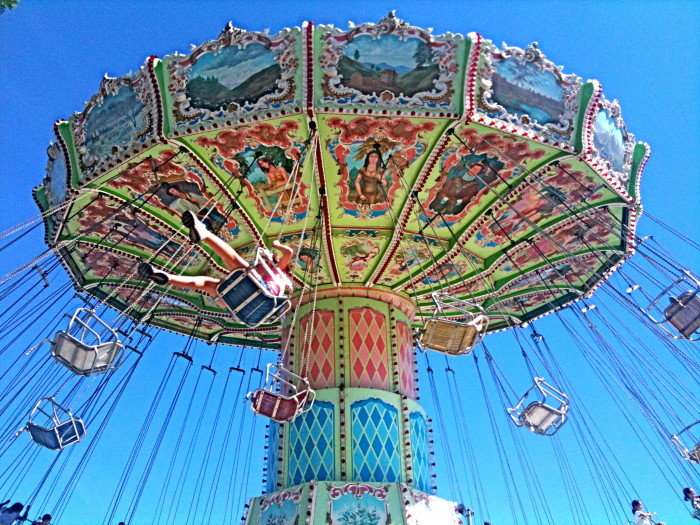 7. I am so excited for the state fair rides!