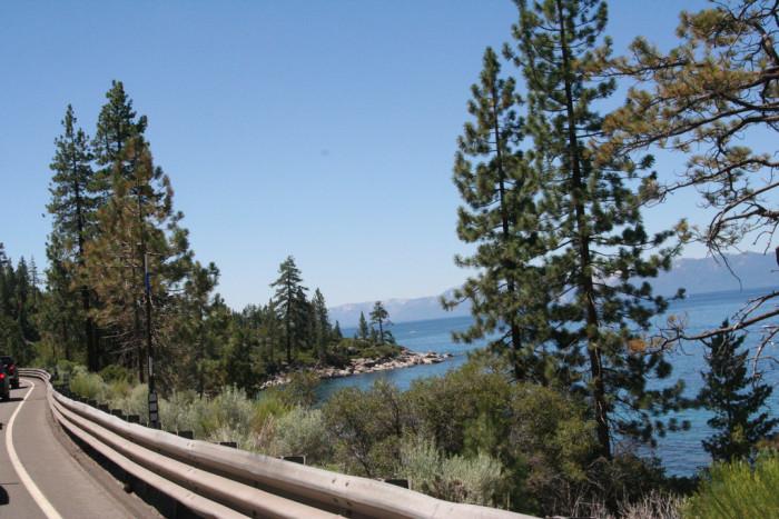 3. Lake Tahoe East Shore Drive