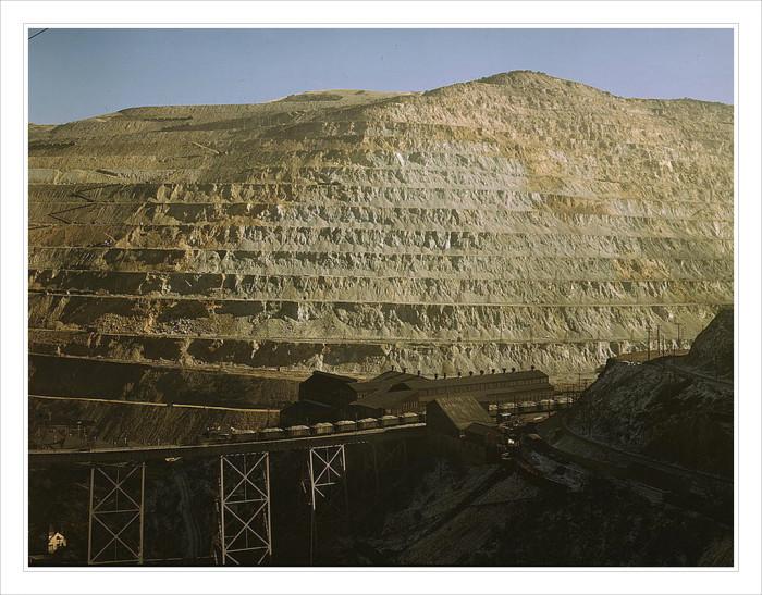 4. Bingham Canyon Mine, 1942
