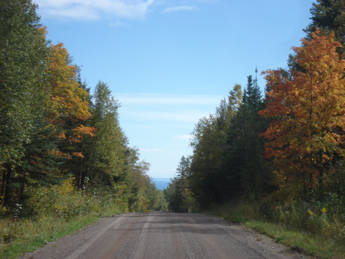 4. Superior National Forest Road 166 is both scenic and empty for a relaxing time in nature.