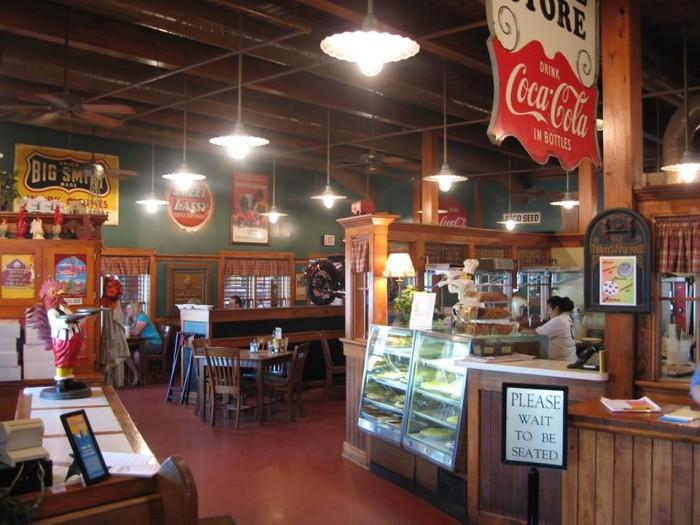 5. Corner Cafe, Riverside