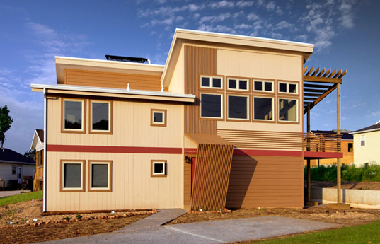 5. LEED Platinum House, Habitat For Humanity, Drury University, Springfield.
