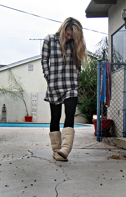 8. You begin noticing a uniform of sorts... Uggs, leggings, and Northface jackets or cozy flannels.