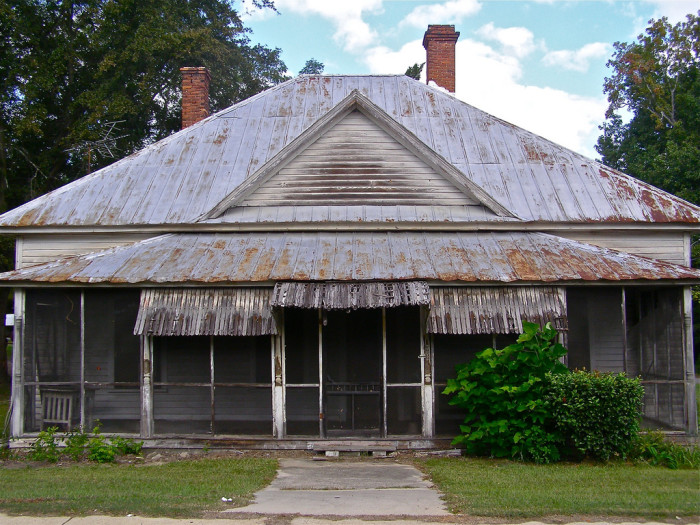 11. Creepy House in Wrens, GA
