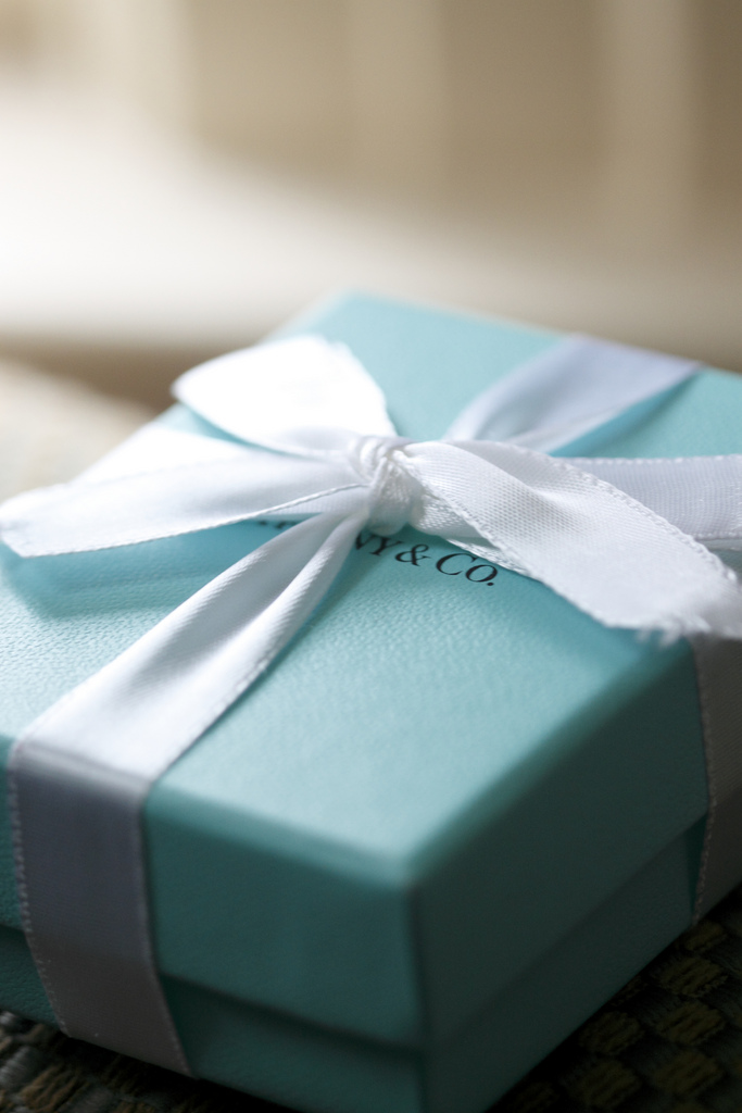 8) We Have Beautiful Jewelry in Little Blue Boxes