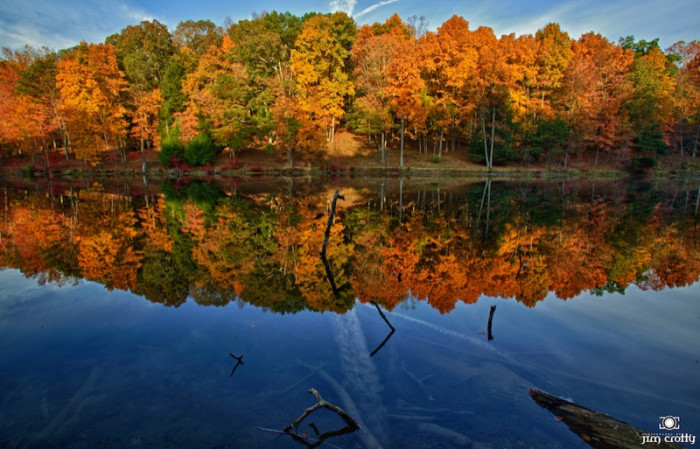 12. Visit your favorite outdoor destination to take in the captivating fall foliage. (If you don't do this one, YOU NEED TO.)
