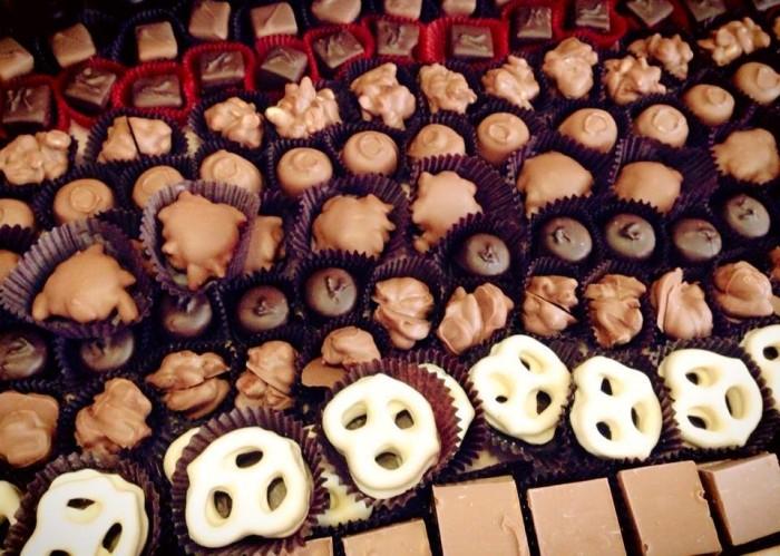 50Varietieshandcraftedchocolates