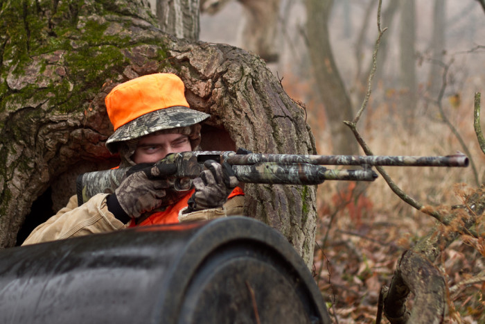 5. And for all the hunters in Iowa, fall brings the long-awaited hunting season.
