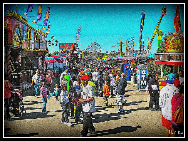 13. Fairs in town!