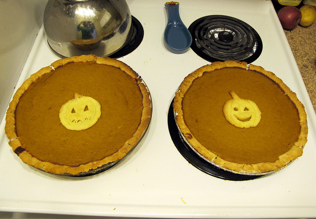 4. PUMPKIN PIE.