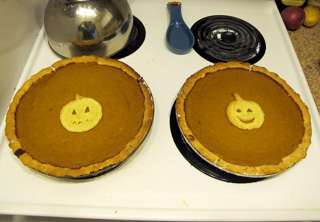 7. Make homemade pumpkin pie!