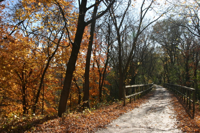 3. Fort Snelling State Park is the perfect place for a fall walk!