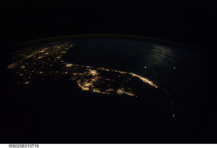 10. We look just as good from space.