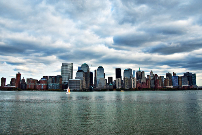 4. NYC views from the Paulus Hook neighborhood of Jersey City.