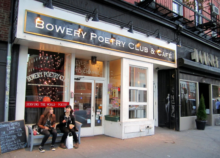 8. Go to a poetry reading night at a local place. If you're brave, get up there and read some of your own poetry.