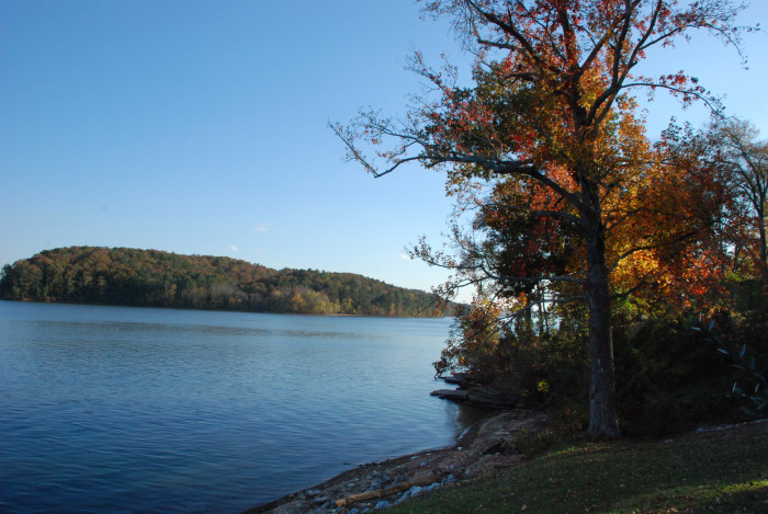 5. Located on a bluff overlooking the Tennessee River, J.P. Coleman State Park is no stranger to breathtaking scenery.