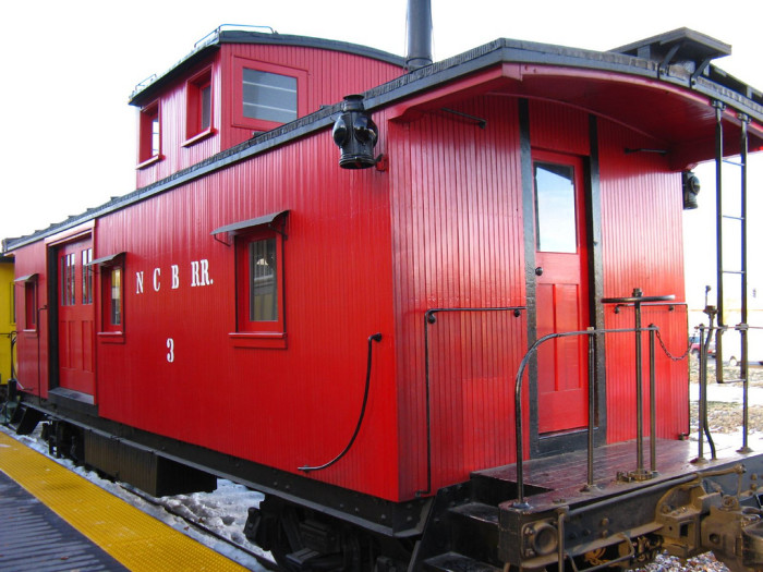 5. The Nevada Copper Belt Railroad Caboose #3 was built circa 1906 and is on display at the Nevada State Railroad Museum.