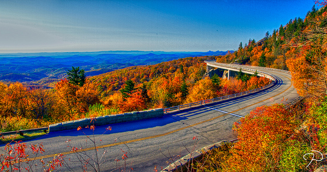 9. Driving on the famous Lynn Cove Viaduct is a must.